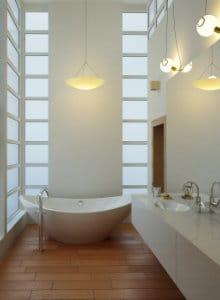 Badkamerverlichting modern