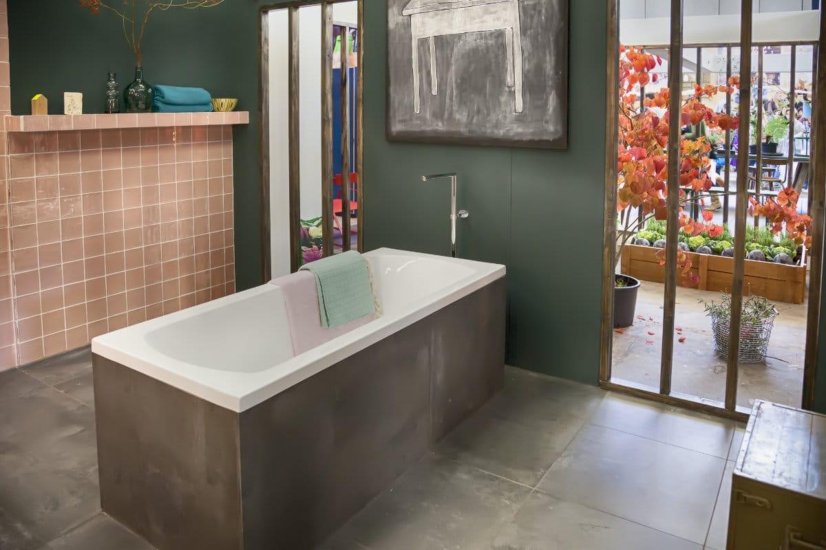 badkamerrenovatie betonlook
