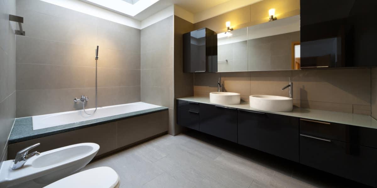 moderne badkamer verlichting