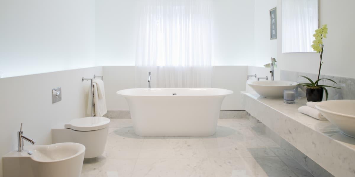 moderne kleine badkamers