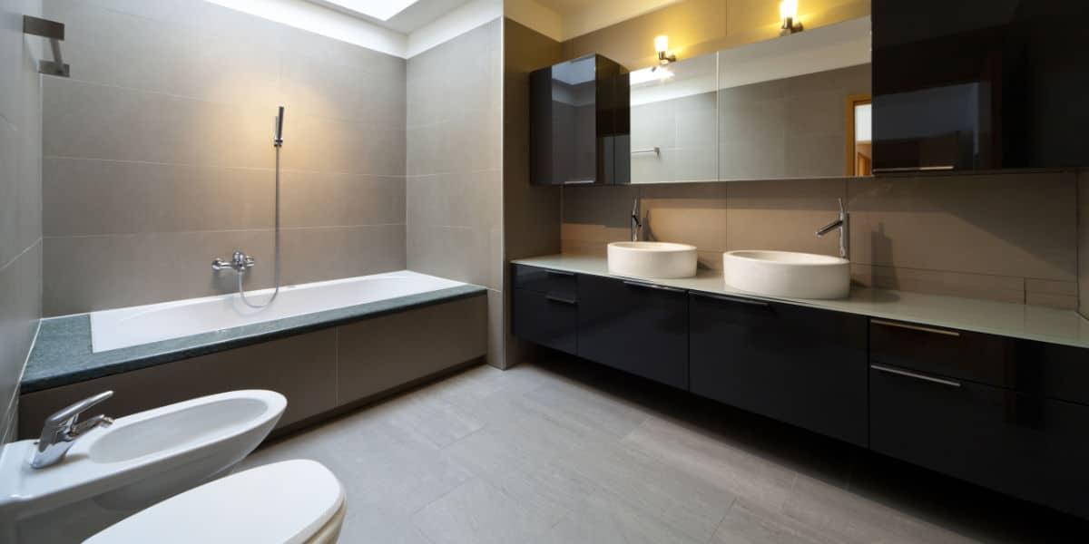 nieuwe badkamer verlichting